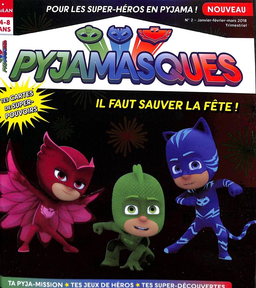 Pyjamasques N° 2 (Janvier-février-mars 2018)