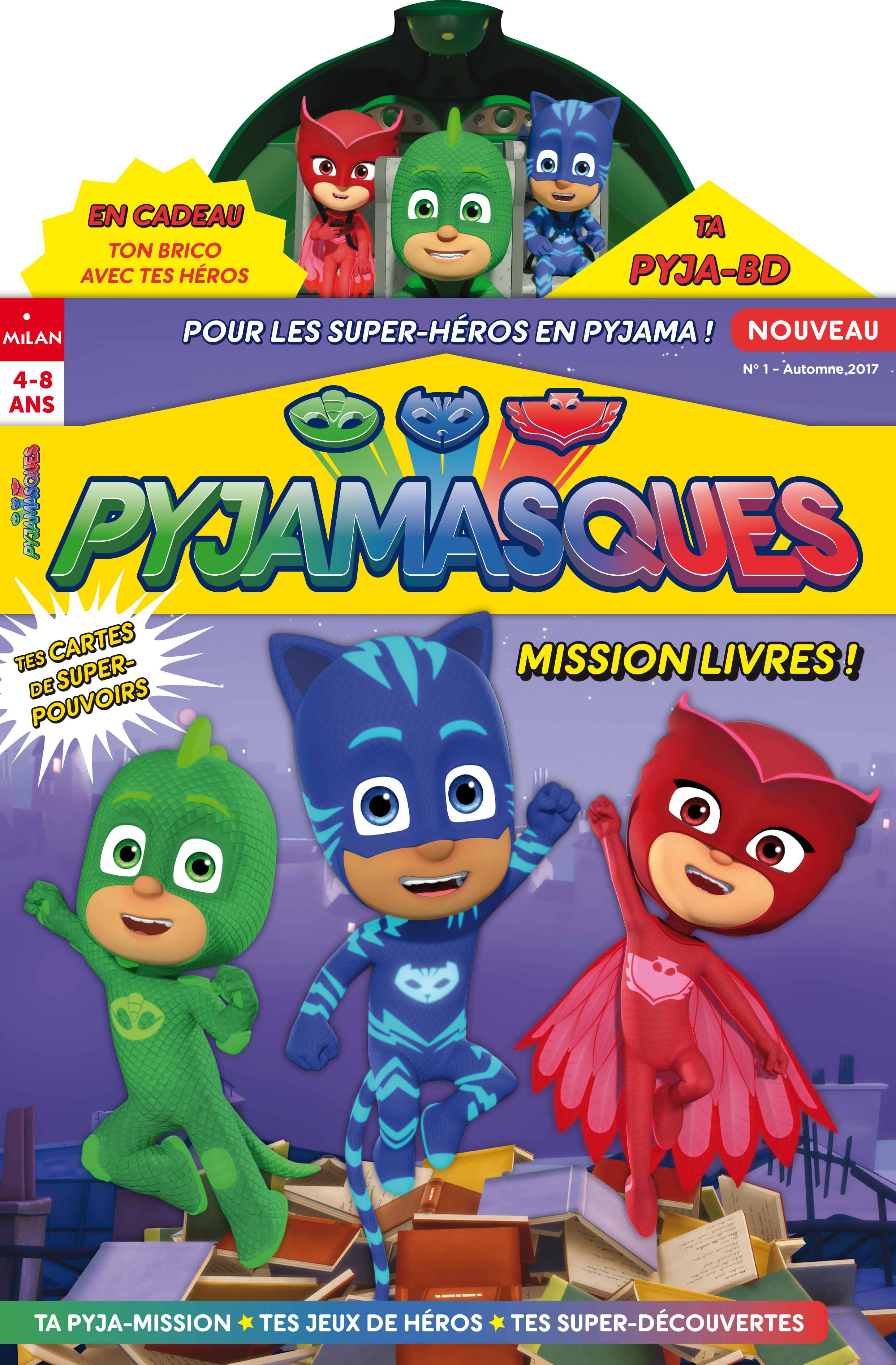 Pyjamasques N° 1 (Automne 2017)