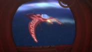 Owl glider in space