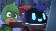 PJ Robot's cute eyes