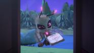 Motsuki says hello to gekko