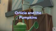 Orticia and the Pumpkins Title Card