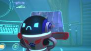 Angry pj robot
