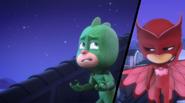 Gekko and Owlette (Flight of the Ninja)