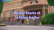 Newton and the Ninjas title card (French)