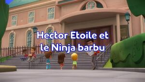 Newton and the Ninjas title card (French).jpeg