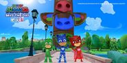 PJ Masks at HQ in the daytime