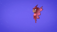 Owlette attempts to do owl wing wind again