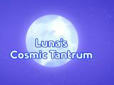 Luna's Cosmic Tantrum