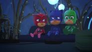 PJ Masks buckled up