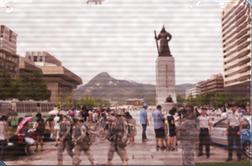 Korea disrupted