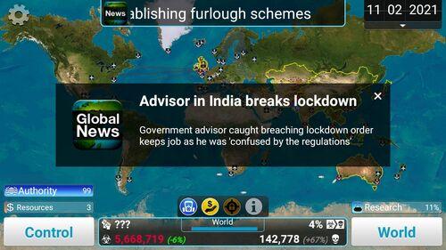 AdvisorBreaksLockdown