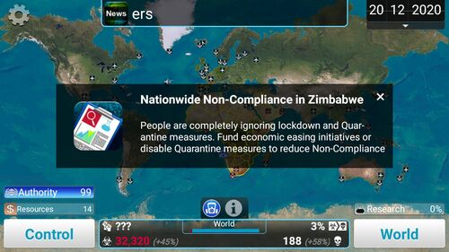 NationwideNon-Compliance