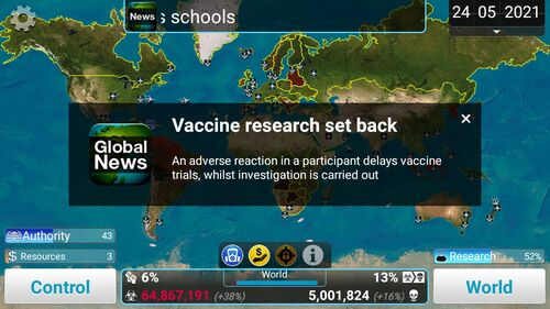 VaccineResearchSetBack