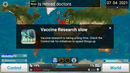 VaccineResearchSlow
