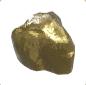 Ancient Golden Statue Nose 02