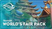 Planet Coaster World's Fair Pack Out Now!
