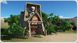 Pirate Shipwreck Food Stall