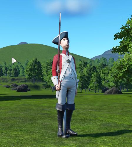 Redcoat Guarding