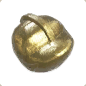 Ancient Golden Statue Head 04