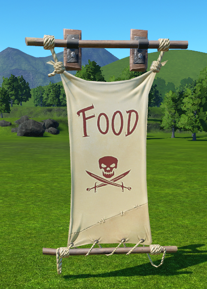 Pirate Food Banner