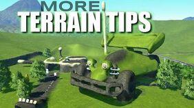 Planet Coaster R.C. Build MORE Terrain Tips W Flatten to Surface VS