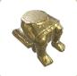 Ancient Golden Statue Legs 01