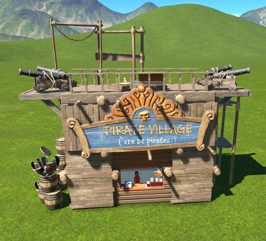 Pirate Shop - Small