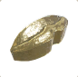 Ancient Golden Statue Mouth 01