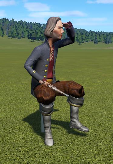 Sitting Pirate 1