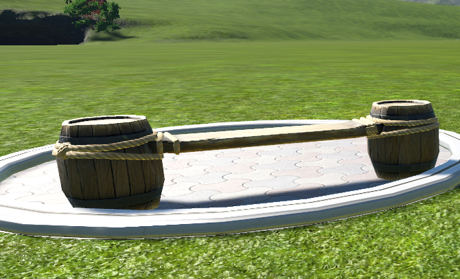 Barrel Bench