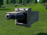 Pirate Cannon Wall Mounted