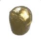 Ancient Golden Statue Head 03