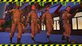 Planet Coaster - The Ghostbusters crew