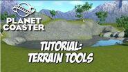 Planet Coaster Tutorial Terrain Tools