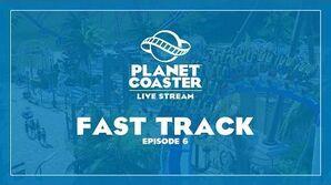 Planet Coaster Livestream Fast Track