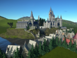 Hogwart's Park and HogsMeade by M0tuRs