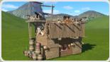 Pirate Fortress Burger Shop