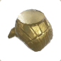 Ancient Golden Statue Legs 02