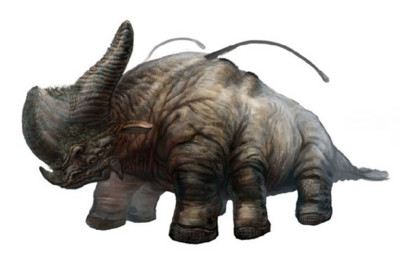 The mightly Coelodonta Uredklad