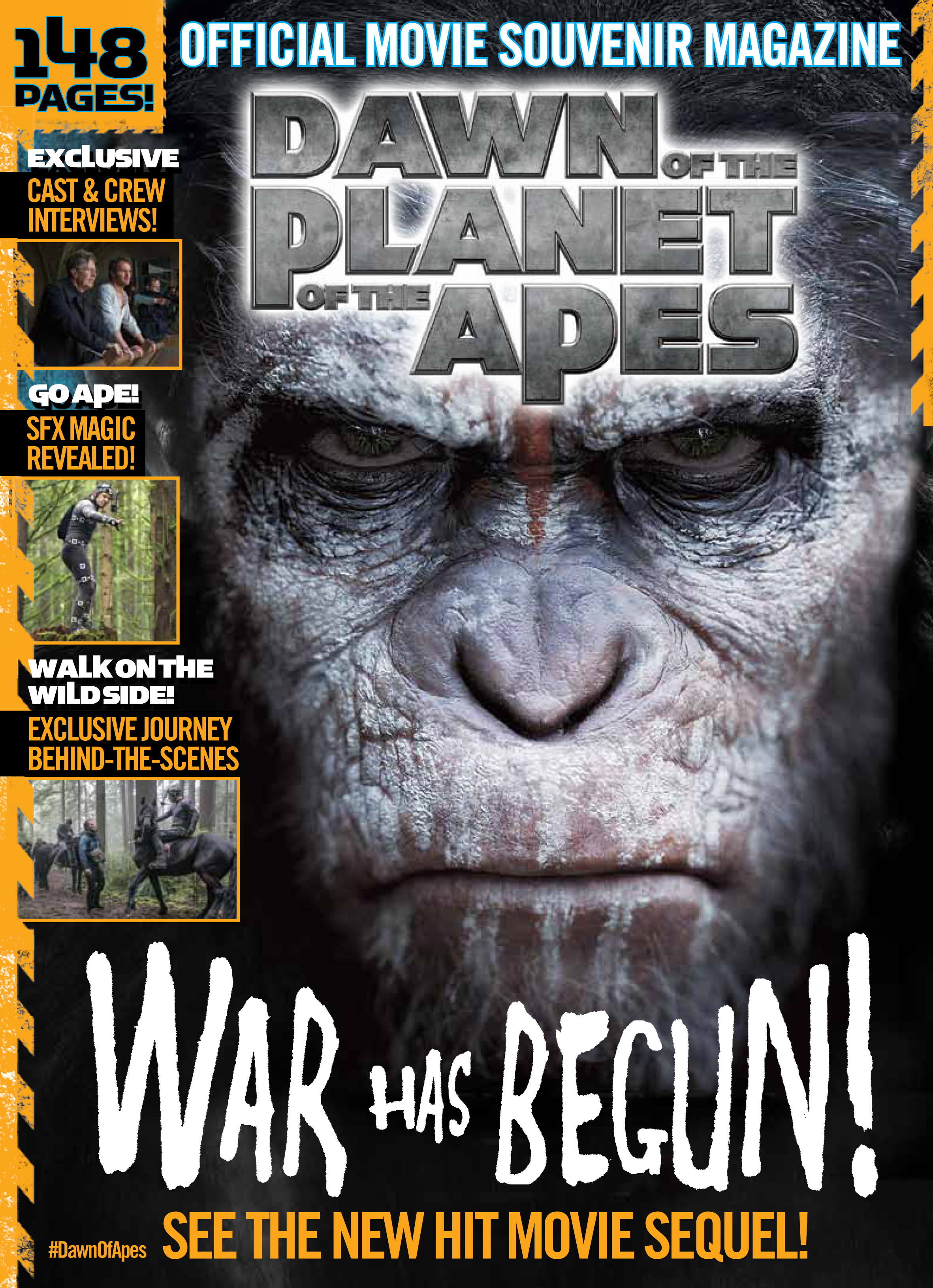 Dawn of the Planet of the Apes Official Movie Magazine