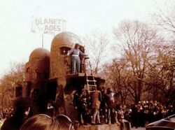 The Mego Float in the Macy's 1974 Parade