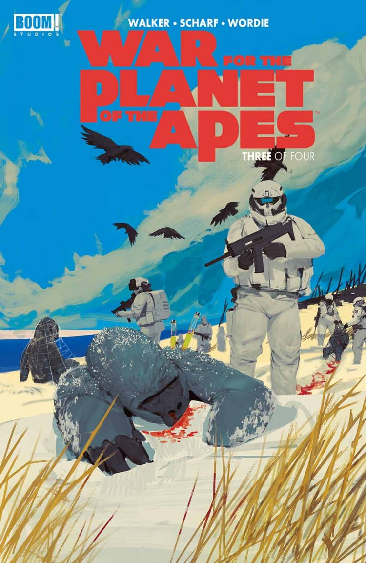 War for the Planet of the Apes: Issue 3