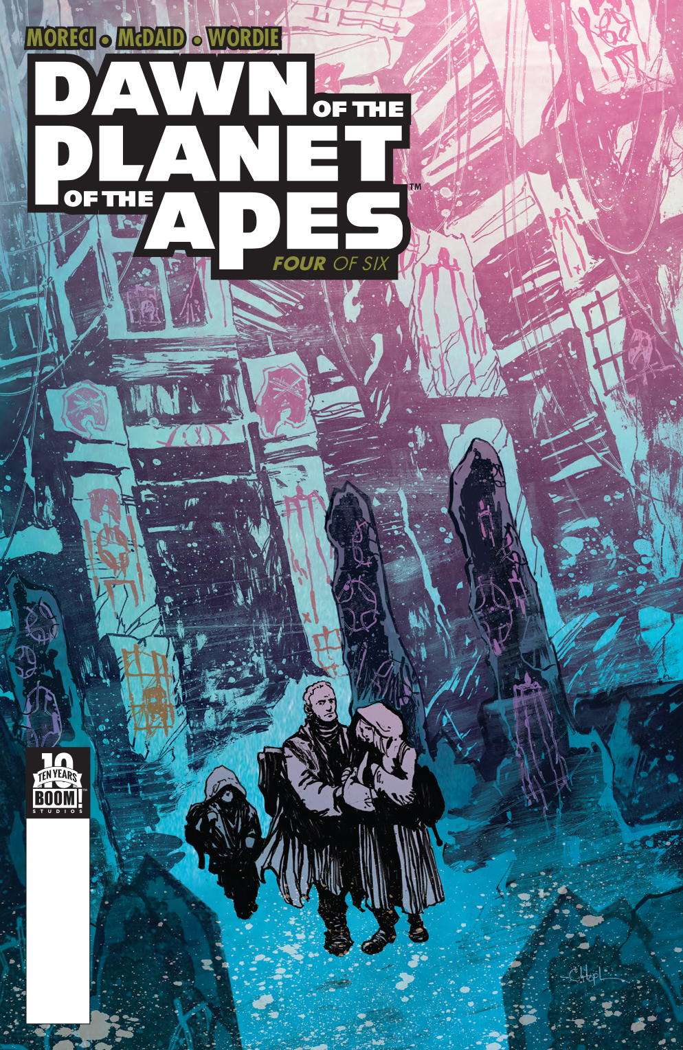 Dawn of the Planet of the Apes: Issue 4