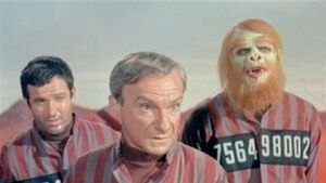 Michael Conrad in 'Lost in Space'