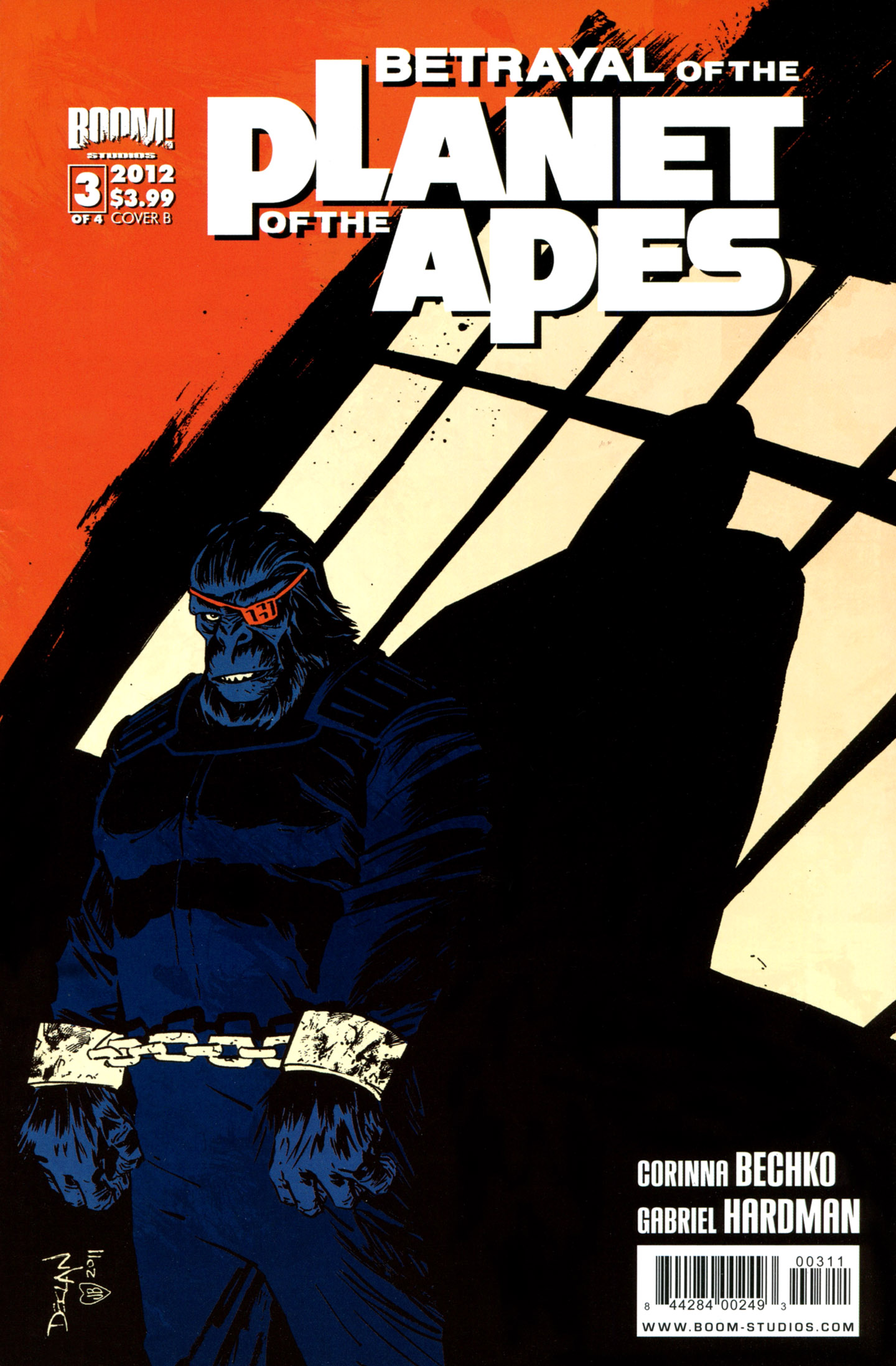 Betrayal of the Planet of the Apes 3