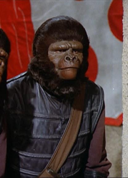 Tall police gorilla