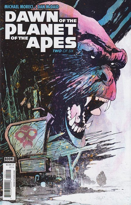 Dawn of the Planet of the Apes: Issue 2