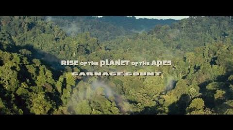 How Many Kills in Rise of the Planet of the Apes (2011)