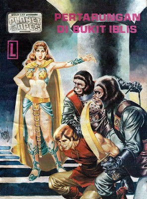 Planet of the Apes (Indonesian Comic)